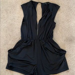 Fun sexy black romper